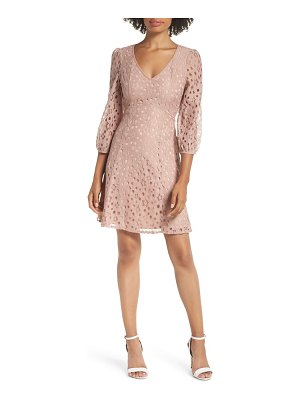 Heartloom piper lace fit & flare dress