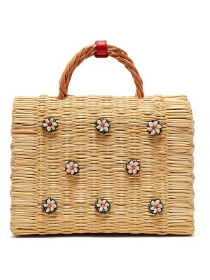 Heimat Atlantica shella woven basket bag