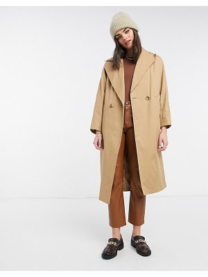 Helene Berman db coat in beige