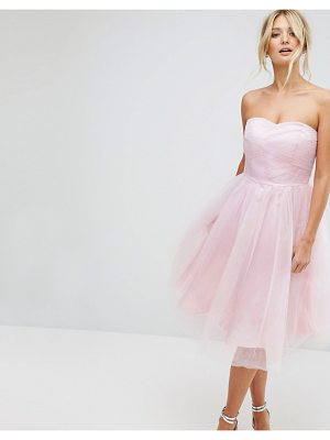 Hell Bunny bandeau tulle dress