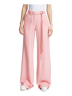 HELLESSY Laurent Belted Wide Leg Pants