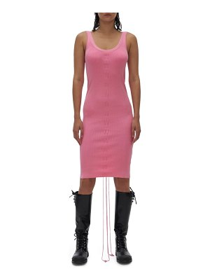 Helmut Lang lacing tank dress