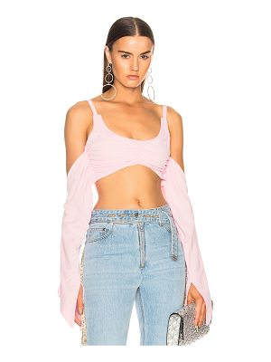 Helmut Lang x Shayne Oliver Tie Back Bra Top