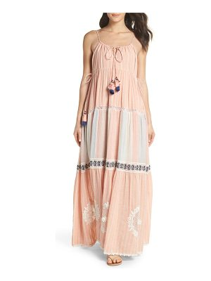HEMANT AND NANDITA hemant & nandita cover-up maxi dress