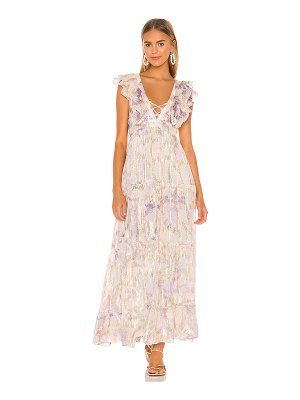 HEMANT AND NANDITA vivir maxi dress