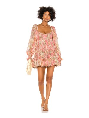 HEMANT AND NANDITA x revolve bloom babydoll dress