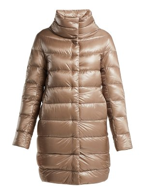 HERNO Dora mid-length light-weight down jacket
