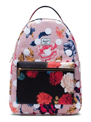 Herschel Supply Co. nova mid volume print backpack