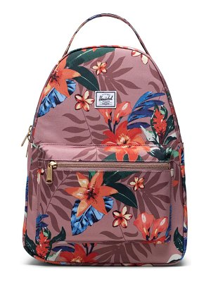 Herschel Supply Co. nova summer floral mid volume backpack