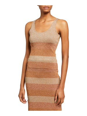 Herve Leger Striped Tank Top