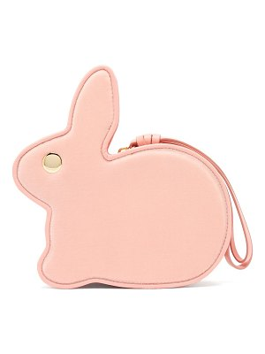 HILLIER BARTLEY bunny leather clutch