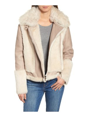 HiSO genuine toscana shearling jacket