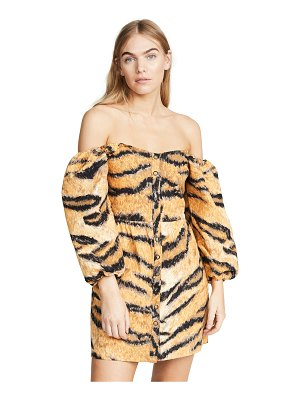 Hofmann Copenhagen a-line animal print dress