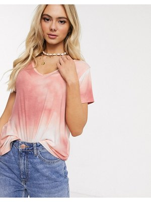 Hollister cozy slouchy t shirt-pink