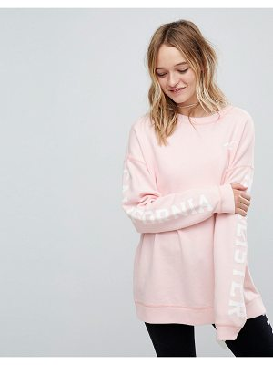 HOLLISTER Logo Sweatshirt Rose