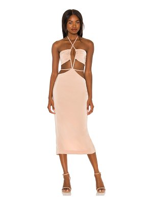 h:ours enza midi dress