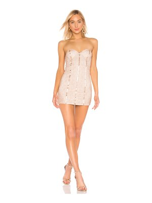 h:ours poesy mini dress