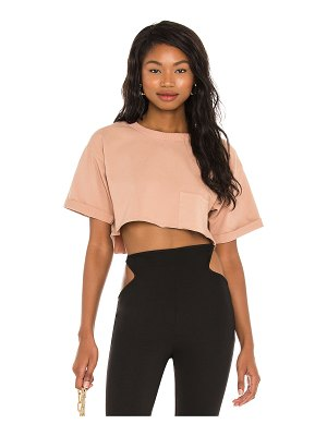 h:ours super cropped pocket tee