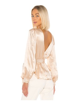 House of Harlow 1960 x revolve aluna blouse
