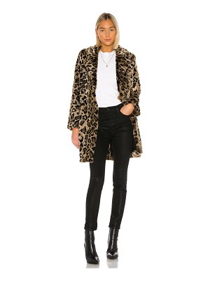 House of Harlow 1960 x revolve genn faux fur coat