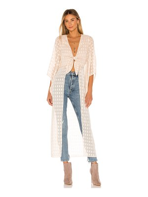 House of Harlow 1960 x revolve isa maxi blouse