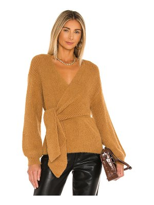 House of Harlow 1960 x revolve khalida wrap sweater