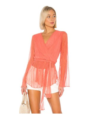 House of Harlow 1960 x revolve meriem blouse