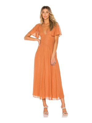 House of Harlow 1960 x revolve sevilla maxi dress