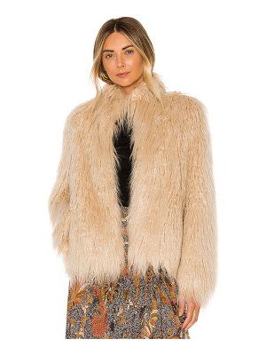 House of Harlow 1960 x revolve solaire faux fur jacket