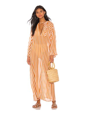 House of Harlow 1960 x revolve tigers eye maxi