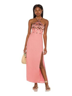 House of Harlow 1960 x sofia richie marlena embroidered maxi dress