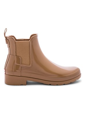 Hunter Original Refined Chelsea Gloss Boot