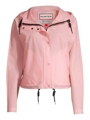 Hunter water-resistant hooded jacket
