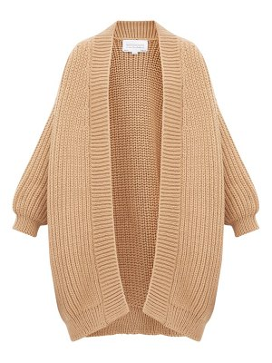 I Love Mr Mittens chunky fisherman knit wool cardigan
