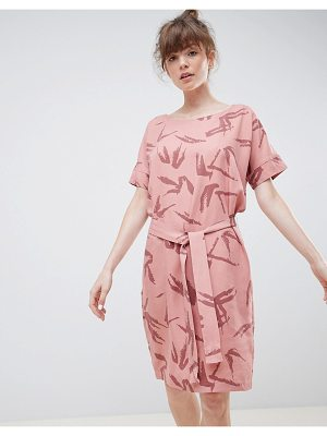 Ichi Brushstoke Shift Dress