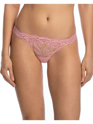 I.D. Sarrieri A La Rose Embroidered Thong