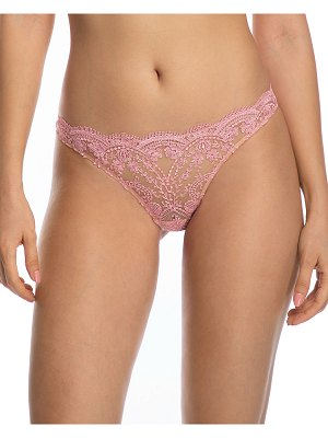 I.D. Sarrieri Embroidered Tulle Brief