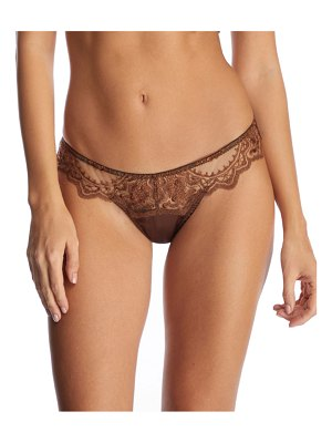 I.D. Sarrieri Le Desir Embroidered Thong