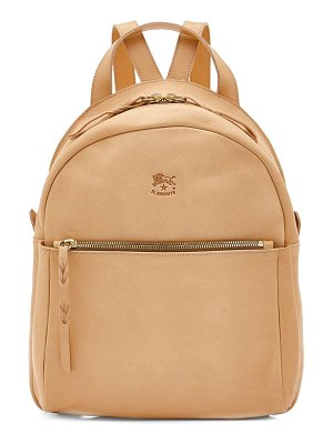 IL BISONTE lungarno leather backpack