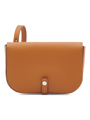 IL BISONTE small piccarda leather crossbody bag