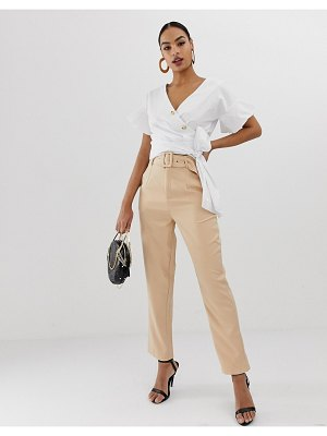 In The Style high waisted tailored pants