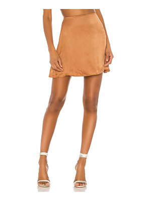 Indah dandelion mini skirt