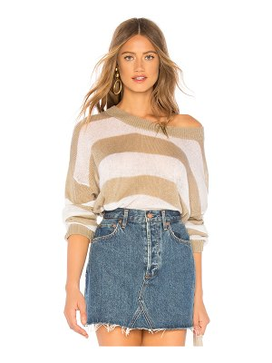 Indah Marshmallow Oversized Sweater