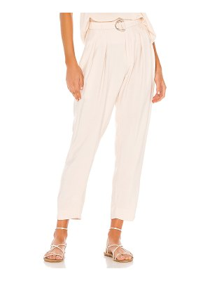 Indah shadow zip front trouser