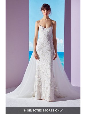 Ines by Ines Di Santo lela embellished column gown