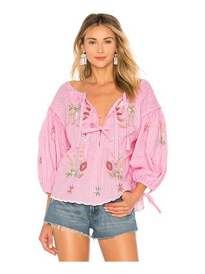 Innika Choo The Night Garden Smock Top