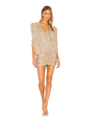 IORANE sequin mini dress
