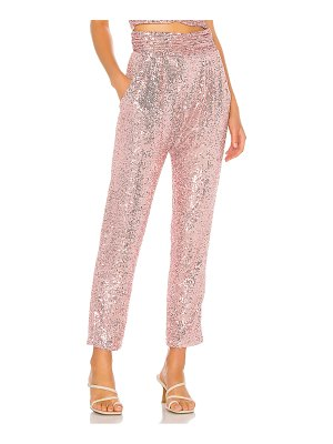 IORANE sequin trousers