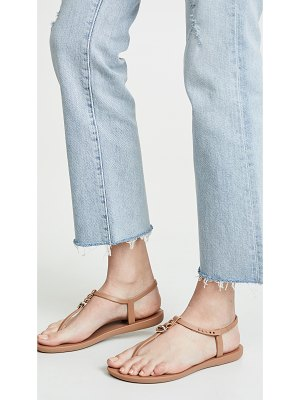 Ipanema lenny locket t-strap sandals