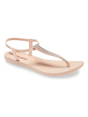 Ipanema pebble embellished flip flop